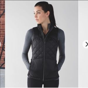 Lululemon Down For a Run Down Athletic Vest!